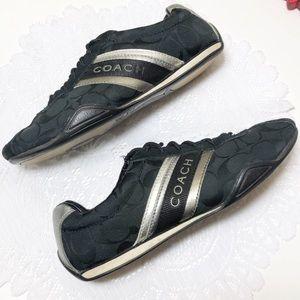 Coach JAYME Sneaker Womens 7M Black Tennis Shoe